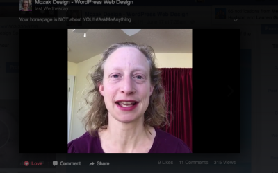 Why I Love Facebook Live (and why you should, too!)